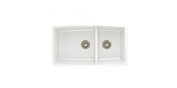 BLANCO PERFORMA MEDIUM 1-3/4 BOWL LOW DIVIDE