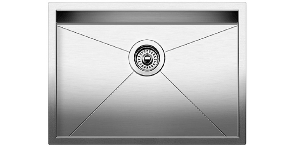 Zero-Edge Corner Sink