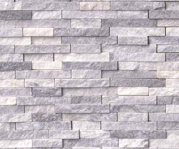 Alaskan Gray Splitface Interlocking Pattern