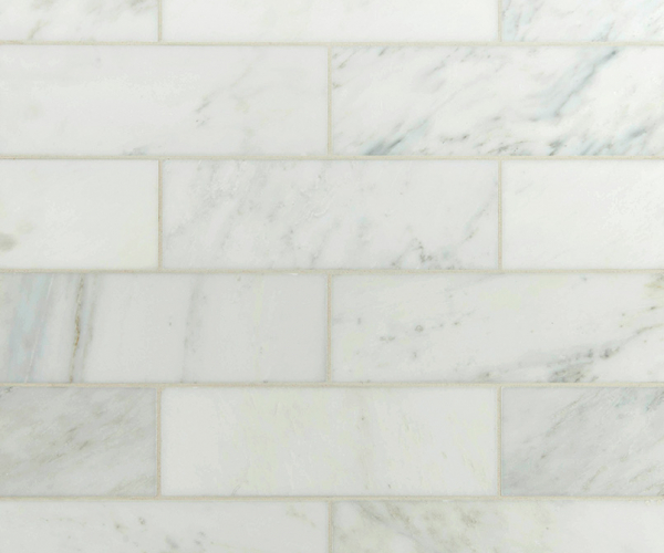 Arabescato Carrara Subway Tile 4x12