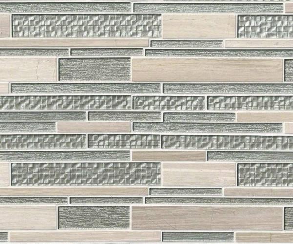 Aria Interlocking Pattern 12x18x8mm
