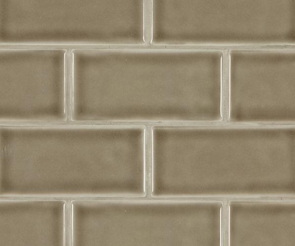 Artisan Taupe Subway Tile 3x6