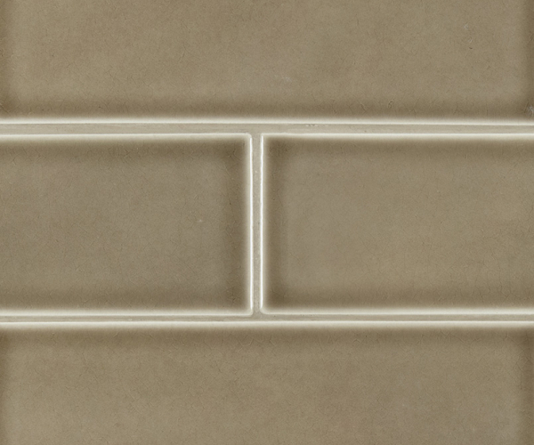 Artisan Taupe Subway Tile 4x12
